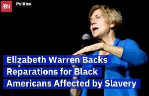 Elizabeth Warren Presses For Slavery Reparations [Video]