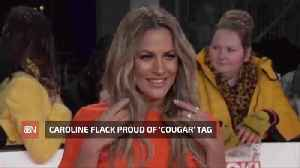Caroline Flack Likes Becoming A Cougar [Video]