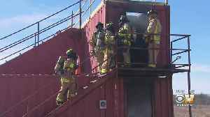 Denton Firefighters Put To Use New Training Facility [Video]