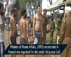 Youth in large numbers turn up for SPO recruitment drive near LoC [Video]