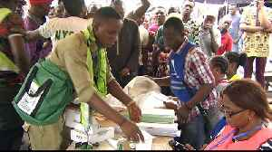Votes being counted in Nigeria's delayed vote [Video]