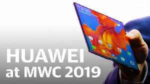 News video: Huawei's first foldable Mate X press conference at MWC 2019 in 12 minutes