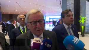First EU-Arab League Summit 'very important' - Juncker [Video]