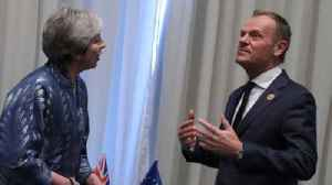 EU leaders ask Theresa May to delay Brexit [Video]