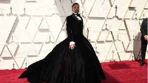 Billy Porter Arrives at Oscars [Video]