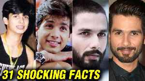 Shahid Kapoor 31 SHOCKING UNKNOWN FACTS | Kareena Kapoor To Mira Rajput | Happy Birthday Shahid [Video]