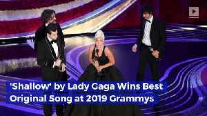 'Shallow' by Lady Gaga Wins Best Original Song at 2019 Oscars [Video]