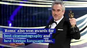 Alfonso Cuarón Wins Best Director for 'Roma' at 2019 Oscars [Video]
