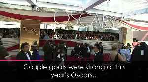 Oscars 2019: All the best couple moments from the red carpet [Video]