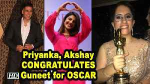 Priyanka, Akshay CONGRATULATES Guneet for winning OSCAR | Period. End of Sentence [Video]