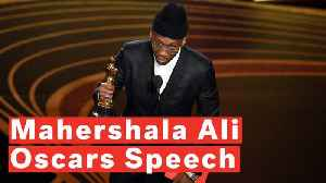 Mahershala Ali Becomes First Black Man To Win Two Best Supporting Actor Oscars [Video]
