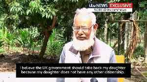 Shamima Begum's father wants her citizenship ban reversed [Video]