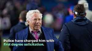 Patriots Owner Robert Kraft Officially Charged in Sex Trafficking Bust [Video]