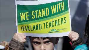 As Oakland Teachers Strike Grinds On, District Says It Won't Budge In Negotiations [Video]