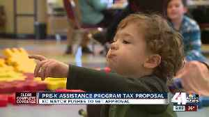 Mayor Sly James campaigns for his pre-K tax plan [Video]
