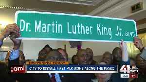 Renaming The Paseo: Ceremony will officially change road to Dr. Martin Luther King, Jr. Boulevard [Video]