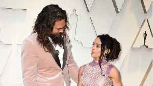 Jason Momoa And Lisa Bonet Wore Last Lagerfeld Collection [Video]