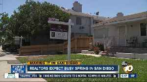Making it in San Diego: Realtors expect busy spring for buyers and sellers [Video]