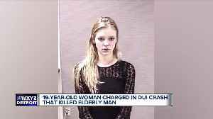 19 y.o. suspected drunk driver charged in crash that killed 81-year-old man [Video]