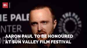 Aaron Paul Is Getting The Pioneer Award In Sun Valley [Video]