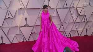 Right Now: Gemma Chan 2019 Oscars Red Carpet [Video]