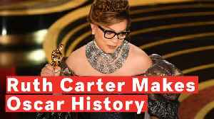 Watch Ruth E. Carter Make History As First African-American Woman To Win Oscar For Costume Design [Video]