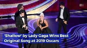 Best Original Song Is 'Shallows' By Lady Gaga [Video]