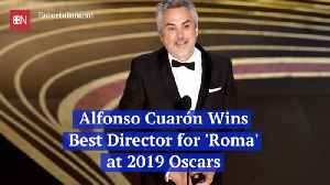 Oscars Crowd Is Wowed By Alfonso Cuaron Win For 'Roma' [Video]