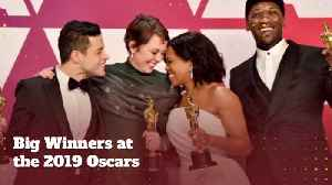 Check Out The Big Oscar Winners [Video]