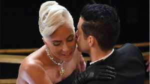 Lady Gaga Fixed Rami Malek's Bow Tie In Adorable Oscars Moment [Video]