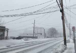 Storms Bring Snow Squalls, High Winds to New England [Video]