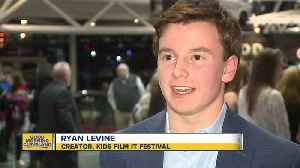 Young filmmakers collect 'Oscars' at film festival [Video]