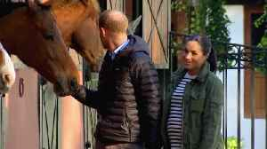 Prince Harry And Meghan Markle Visit Equestrian Centre [Video]