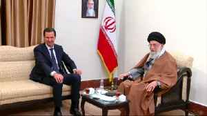 Assad makes first Iran visit since Syrian war [Video]
