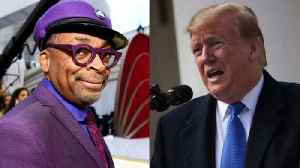 Trump Accuses Spike Lee of 'Racist Hit' During Oscars Speech [Video]