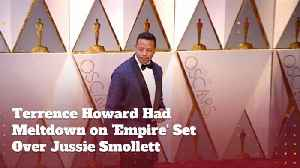 Terrence Howard Is Freaked Out By The Whole Jussie Smollett Affair [Video]