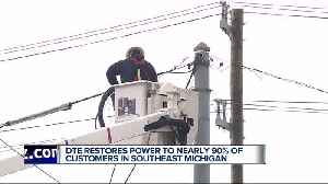DTE: 17,000 remain without power in metro Detroit due to high winds [Video]