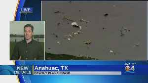 .Search For Body Continues At Texas Plane Crash Site [Video]