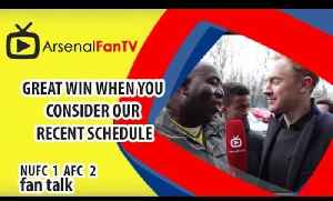 Great Win When You Consider Our Recent Schedule | Newcastle 1 Arsenal 2 [Video]