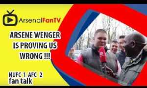 Arsene Wenger Is Proving Us Wrong !!! | Newcastle 1 Arsenal 2 [Video]