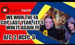 We Won The FA Cup Last Year, Let's Win It Again !!! - Arsenal 2 Hull City 0 [Video]