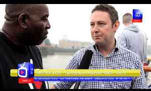 Arsenal FC 3 Fulham 1 - BSM Boat Trip - David O'Leary Talks To Robbie About BSM & Arsenal [Video]