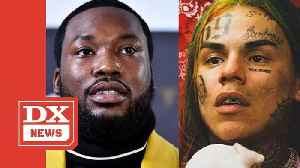 Meek Mill Puts Tekashi 6ix9ine's Girlfriend In Her Place For Calling Him A Big Hater [Video]