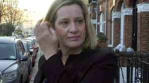 Amber Rudd: looking forward to hearing from the PM on Brexit [Video]