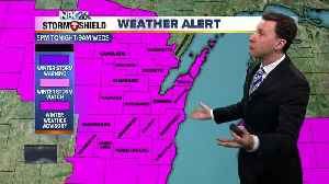 Michael Fish's NBC26 winter weather forecast [Video]