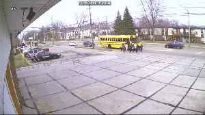 Mentor-on-the-Lake police capture driver driving past school bus [Video]