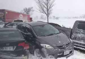 Several Injuries Reported in Multi-Vehicle Pileup on Highway 400 in Ontario [Video]