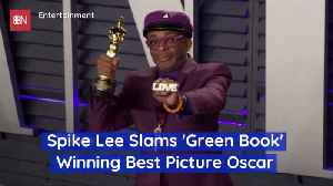 Spike Lee Is Not A Happy Oscar Best Picture Loser [Video]