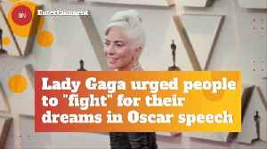 Lady Gaga Has A Message For Everyone Watching The Oscars [Video]