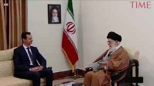 ASSAD VISITS IRAN IN RARE FOREIGN TRIP [Video]